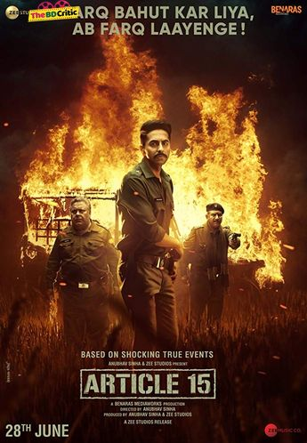 Article 15 (2019) Hindi Full Movie Watch Online HD Print Quality Free Download
