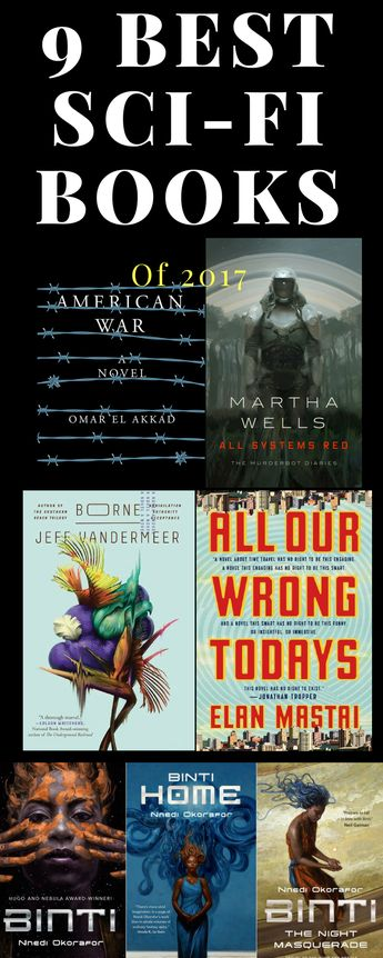 Top 9 Best Science Fiction Books of the Year 2017