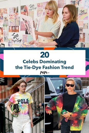 20 Celebs Dominating the Tie-Dye Fashion Trend: These celebrities are turning heads with their tie-dye fashion.