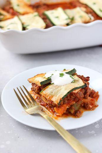 Paleo Mexican Lasagna