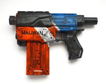Hyperion Borderlands Inspired Nerf gun by KatofWonders on E