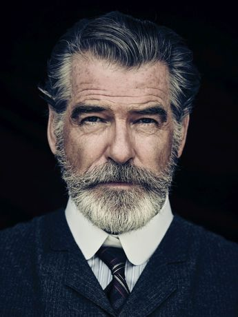 Pierce Brosnan Jokes His Wife Is 'Very Fond' of the Beard He Grew for 'The Son'