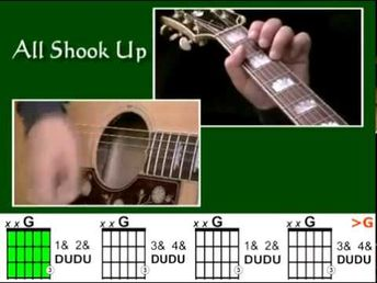 How to play All Shook Up - How To Play On Guitar - (Chords, Lyrics, Strum Pattern) -...