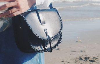 3e306321e745 Handmade Leather Cute Braided Saddle Bag Personalized Monogrammed Gift  Custom Crossbody Bag Purse Shoulder Bag Purse
