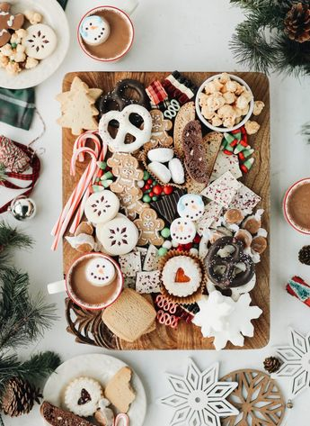 Channel Your Inner Willy Wonka With This Holiday Cookie and Candy Board