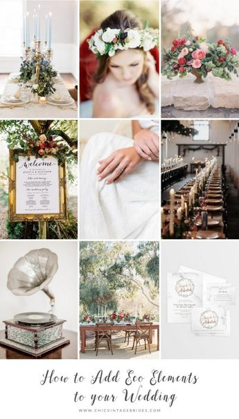 5 Ways to Add Eco Elements to Your Vintage Wedding - Chic Vintage Brides : Chic Vintage Brides