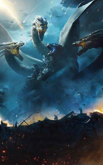 Hình nền Trò Chơi - Điện Ảnh by Godzilla: King of the Monsters | Hình Ảnh Chất Lượng Cao Trên Laginate