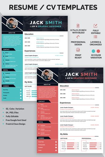 Jack Smith - Resume Template #77149