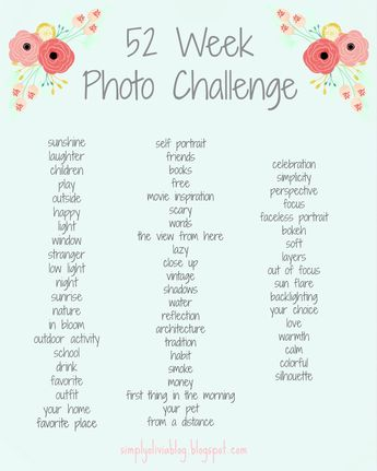 52 Week Photo Challenge / Simply Olivia