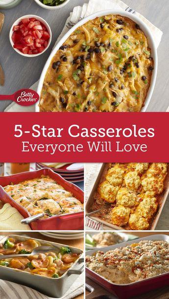 5-Star Casseroles Everyone Will Love