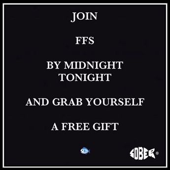 """Sober Fish - Blogger on Instagram: """"Tick tock, tick tock .. Sober October is nearly upon us and it's time to join your tribe! . . . Subscribe to #thefishfollowerssociety (FFS)…"""""""