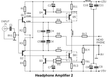 Schematic 2 1 audio Amplifier TDA2030 ne5532 bass filter 70