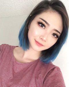 30 Blue Ombre Hair Color Ideas