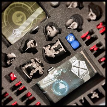 foam tray set for XCOM: The Board Game - box