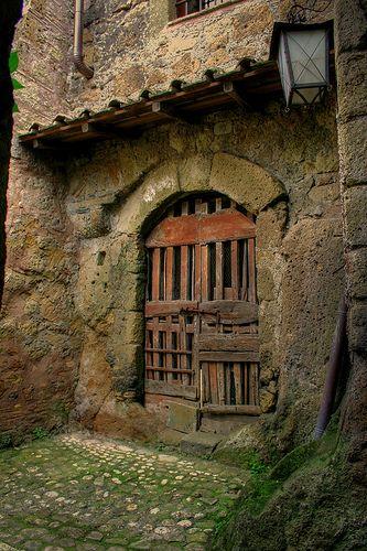 Magical Door, Calcata, Italy