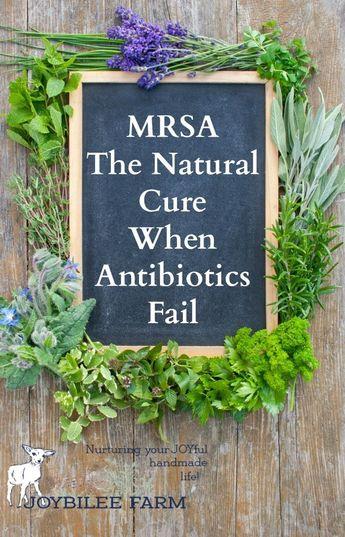 MRSA: The Natural Cure When Antibiotics Fail You