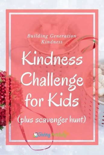 Our Advent Calendar with a Kindness Scavenger Hunt