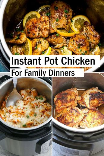 How to cook chicken when you are busy or constantly tired after work? Well, gather all well-prepared ingredients in an instant pot, press the button and let it process. At the same time, you can do other stuff (do the laundry, tidy room, water the fl