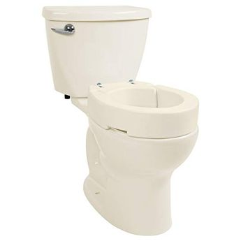 Sensational Aquasense Raised Toilet Seat With Lid White 2 Inch White Pdpeps Interior Chair Design Pdpepsorg