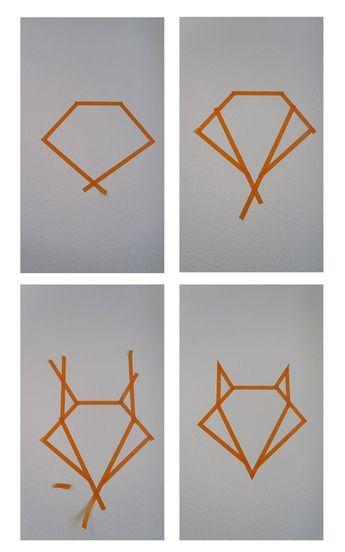 DIY – Origami Wall Art –                                                                                                                                                     More
