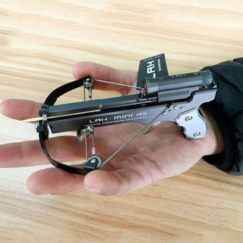 Toothpick/QTip Shooting Mini Crossbow