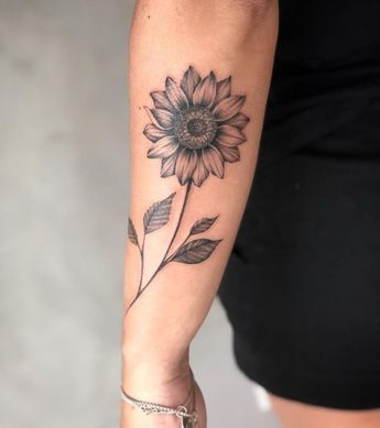 Zonnebloem Tattoo Arm Ideas And Images Pikuv
