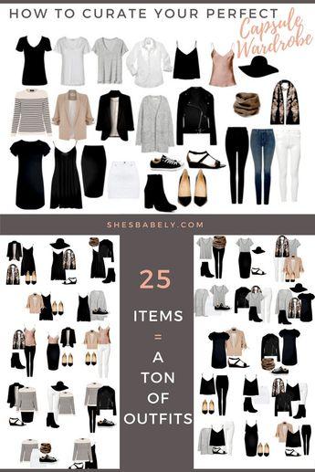 How To Build A Capsule Wardrobe (Plus Free Workbook!)