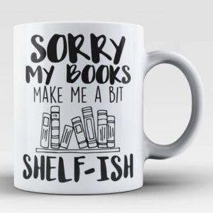 book shelf-ish mug