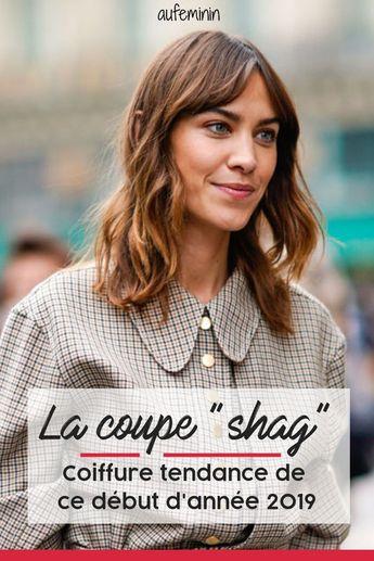 La coupe shag, la coiffure tendance de ce début d'année 2019