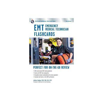 EMT Flashcard Book, 4th Ed. - (EMT Test Preparation) 4 Edition by Jeffrey Lindsey (Paperback)