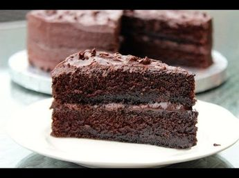 HOW TO MAKE THE BEST CHOCOLATE CAKE FROM SCRATCH - YouTube