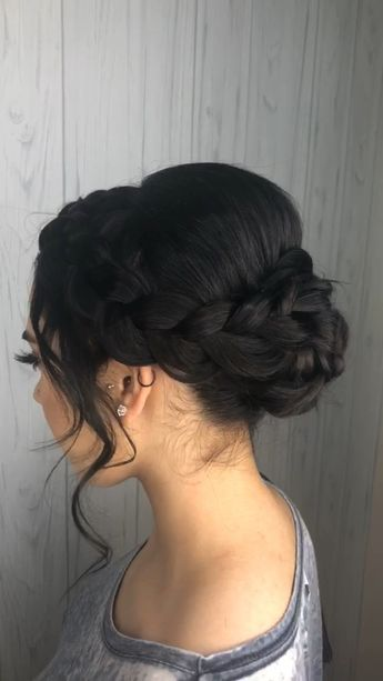 This gorgeous style was created on shoulder length hair! Perfect for prom, weddings or a gala!  #desithediva #houstonhairstylist #htxhair #shorthairstyles #hairstyles #shorthair #promstyle #fashion