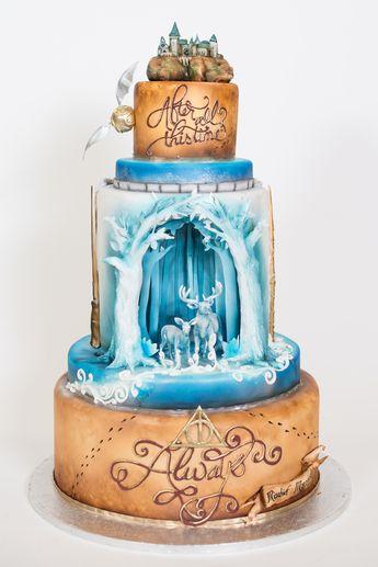 Blockbuster Movie-Inspired Wedding Cakes