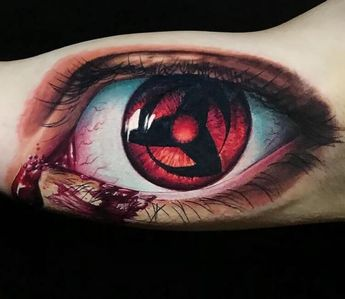 Recently Shared Mangekyou Sharingan Tattoo Ideas Mangekyou