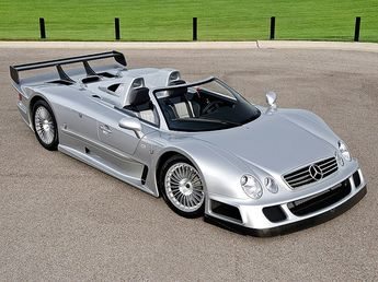 extremely rare mercedes clk gtr roadster up for auction rh pinosy com