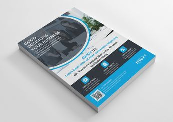 Modern Corporate Business Flyer Design - Graphic Templates