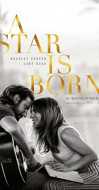 A star is born.  Directed by Bradley Cooper. With Lady Gaga, Bradley Cooper, Sam Elliott, Greg Grunberg. A movie star helps a young singer and actress find fame, even as age and alcoholism send his own career into a downward spiral.