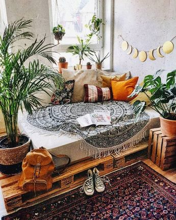 50 plans de décoration pour la maison inspirés de Boho