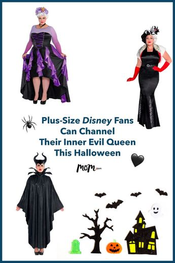 Plus-Size Disney Fans Can Channel Their Inner Evil Queen This Halloween: Calling all Halloween curvy queens! These costumes are scary flattering. #halloween #halloweencostumes #halloweencostumesforadults #plussize