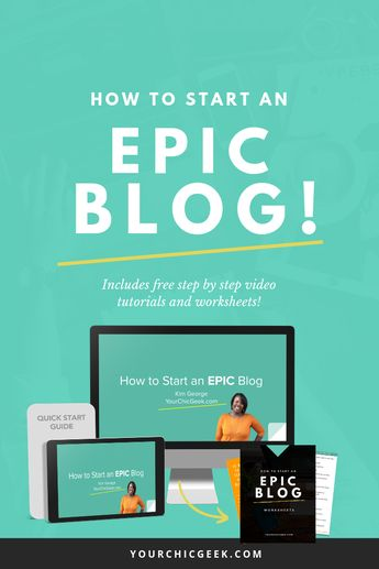 Want to learn How to Start a Blog with WordPress? Click through to view this FREE Video Series + Guide to starting an EPIC WordPress blog for your brand.