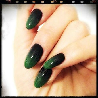 13 Pics GREEN AND BLACK NAIL DESIGNS(best blog 2018)