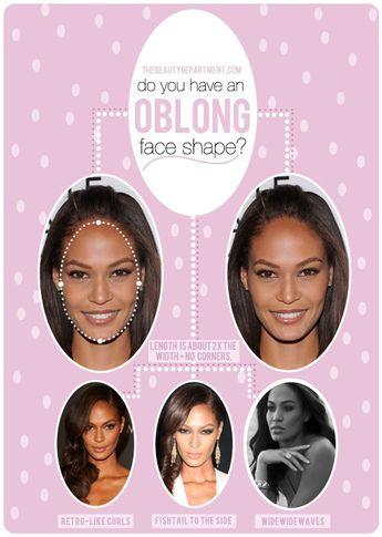 HAIR TALK: OBLONG FACE SHAPE