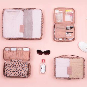 Pattern Ladies Travel Pouch Set | @giftryapp