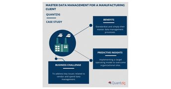Master Data Management Helped a Manufacturing Company to Enhance Spend Visibility and Compliance | Read Quantzig's Recent Success Story for In-Depth Insights