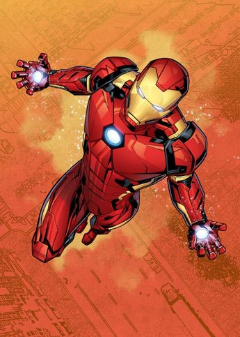 Iron Man by Marvel | metal posters