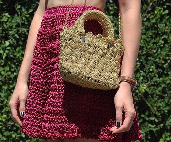 Bolsa de crochê: 90 fotos e tutoriais para você fazer a sua [VÍDEOS]