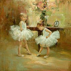 Samantha & Danielle ~ Our little ballerinas
