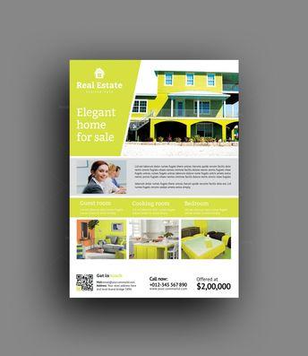 Bargain Real Estate Flyer Design Template - Graphic Templates