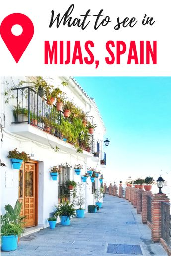 Planning a day trip from Malaga? Or just want to visit another picturesque town in Andalucia, Spain? Well, Mijas Pueblo is the perfect place for Insta-worthy photos and dreamy views... Check out what to see in Mijas, Spain!