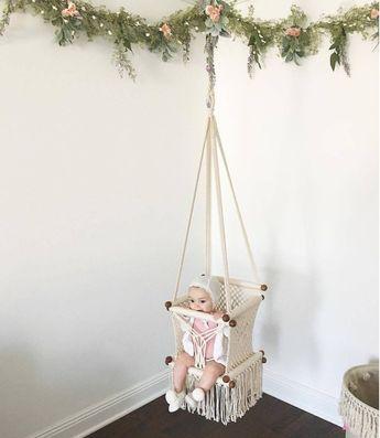 Hang a Hammock Collective | Macrame Hammock Baby Swing